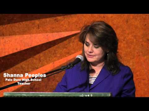 Shanna Peeples: National Finalist News Conference - YouTube