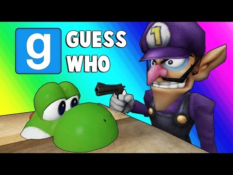 Gmod Guess Who - Nintendo Edition! (Garry's Mod Funny Moments)