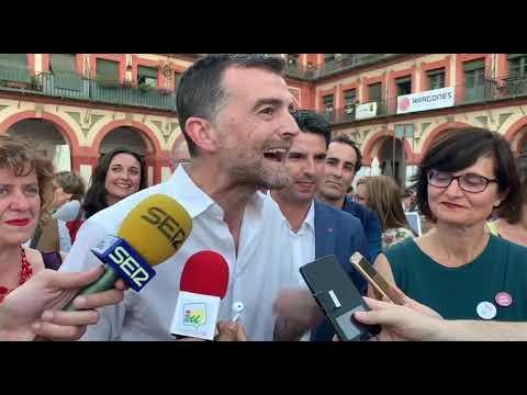 Antonio Maíllo en su mitin de la Plaza de La Corredera 2019 05 22 21 27 17
