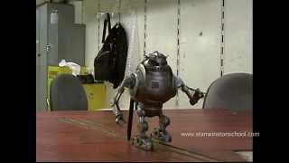 ZATHURA Robot Behind-the-Scenes - ROBOT MONTH
