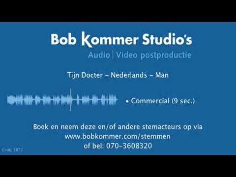 Tijn Docter   Voice over stemdemo