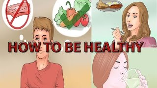 How to be Healthy| 4 Real & Easy Way How to Be Healthy & Fit, Animation Video| Healthy Tips Solution