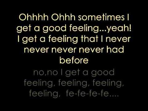 Flo Rida- Good Feeling Lyrics.
