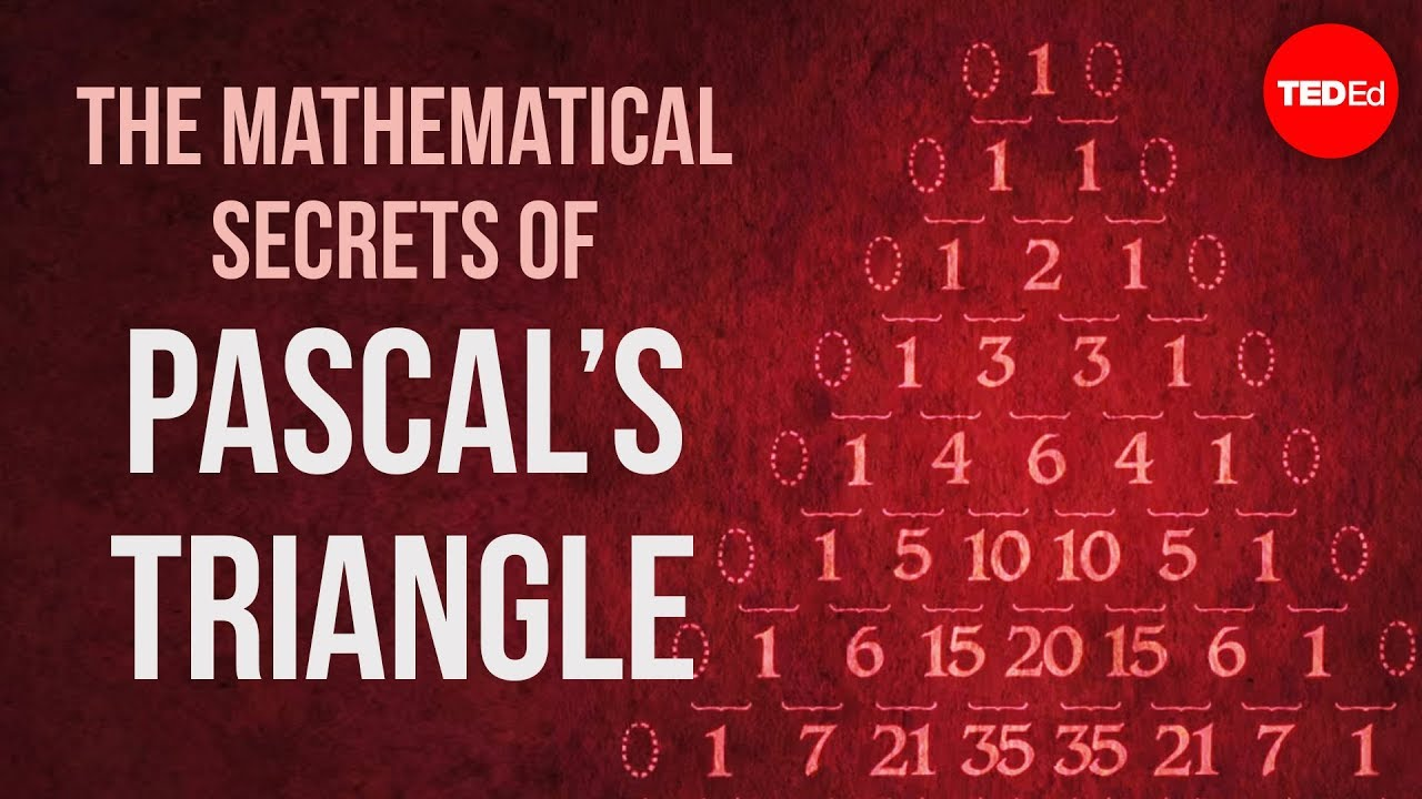 pascal s triangle what makes it special Pascal's triangle conceals a huge number of patterns, many discovered by  pascal  the main point in the argument is that each entry in row say is added to  two.