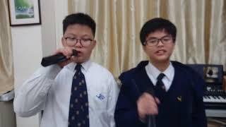 wkc的初中組亞軍3B何志朗、張釗豪、劉沛豪、李澤源相片