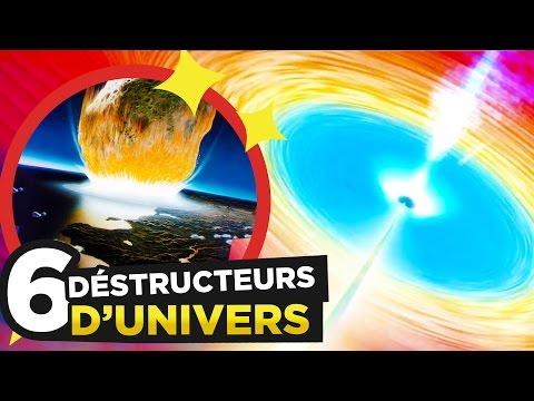 6 CHOSES qui peuvent DÉTRUIRE L'UNIVERS