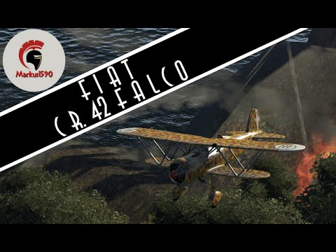 [WAR THUNDER] RB #2 - Fiat CR.42 Falco: spaghetti & mandolino! (HD)
