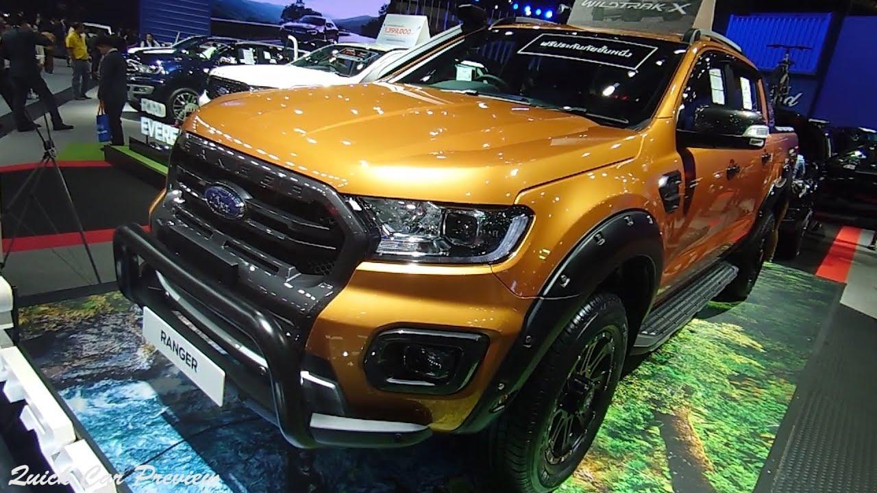 2020 Ford Ranger Wildtrak X 2 0 Bi Turbo 4x4 Quick Preview Youtube
