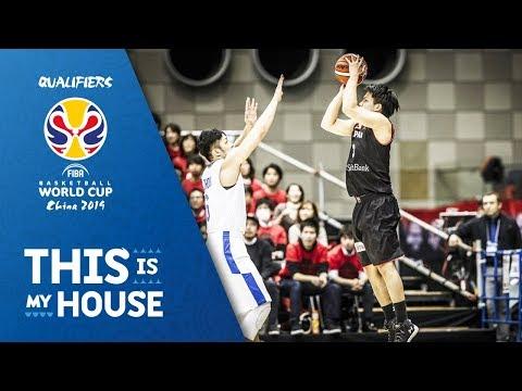 Naoto Tsuji drops 26pts against Chinese Taipei - FIBA Basketball World Cup 2019 - Asian Qualifiers