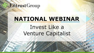 Invest Like a Venture Capitalist - Video Image