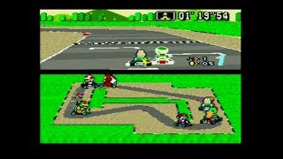 Super Mario Kart (SNES) Fail Compilation