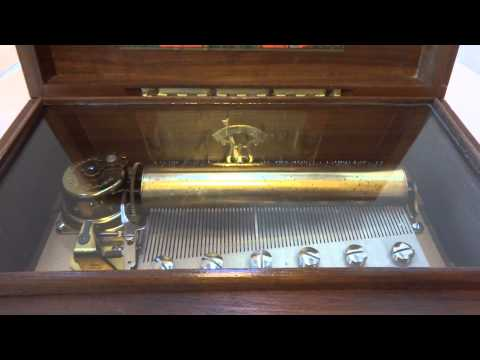 Reuge 72 note music box Ode to Joy