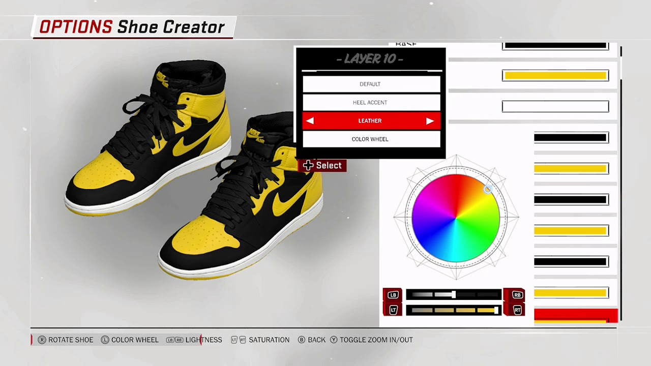 NBA 2K18 Shoe Creator - Air Jordan 1