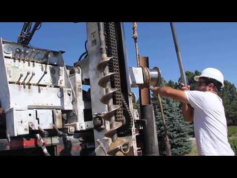 Drilling For Soil Samples