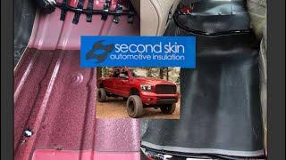 Second Skin Luxury Liner Pro Install Mega Cab!!!
