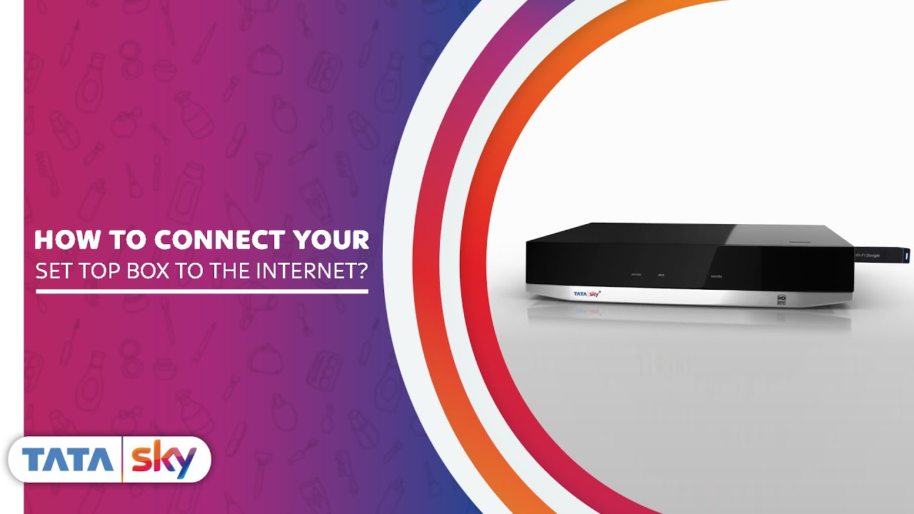 Connect Your Set top Box to Internet Using Tata Sky Remote