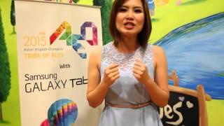 Video Zilvia Iskandar - Newscasting Champion of The 2012 AEO download MP3, 3GP, MP4, WEBM, AVI, FLV Desember 2017