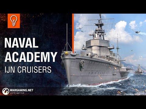 Naval Academy - IJN Cruisers