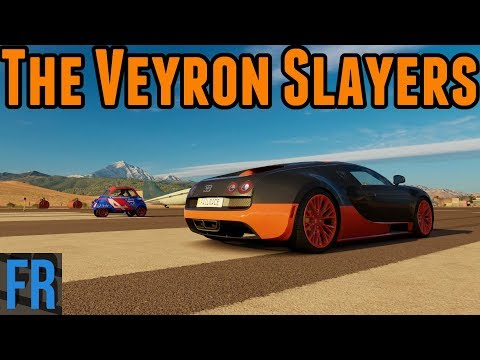The Veyron Slayers - Forza Horizon 3 Challenge