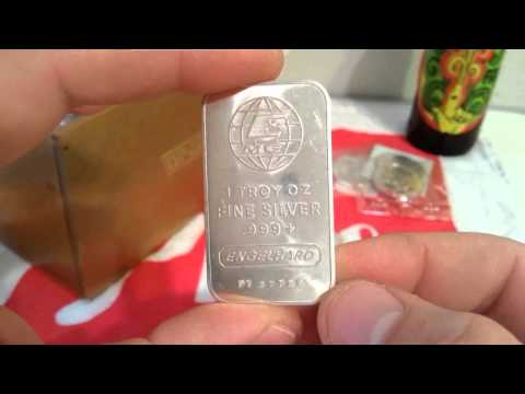 Almost 10 ounces of pure silver bullion! A Local Coin Store purchase!