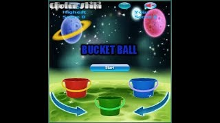 Android Game Bucket Ball ||New andriod game||Ball game