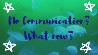 NO COMMUNICATION?? | Pick A Card