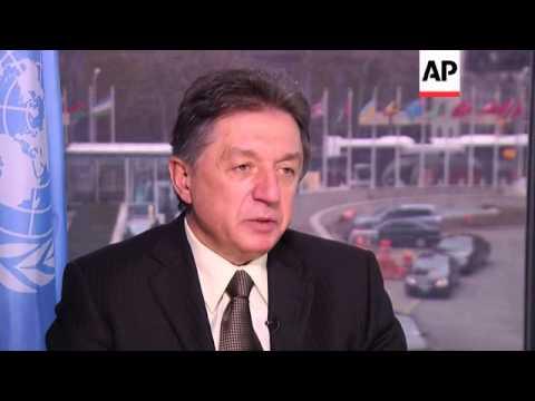 Interview with Yuriy Sergeyev, Ukraine's Ambassador to the United Nations