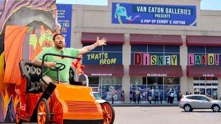 That's From Disneyland - HUGE Pop Up Exhibit / Disneyland & Walt Disney World Vehicles and Props