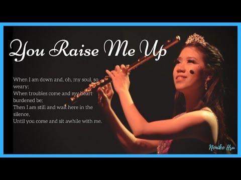 Josh Groban【You Raise Me Up】Flute Cover | Noniko Hsu