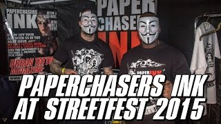 Paperchasers Ink - Tattoo Magazine at Streetfest 2015