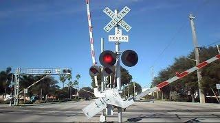Tri Rail Train Crossing Gates Malfunction Then Resets