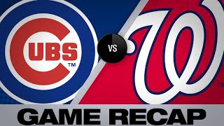 5/18/19: Strasburg, Soto lead Nationals to win
