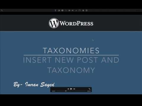 Insert New Post and Taxonomies into Database WordPress