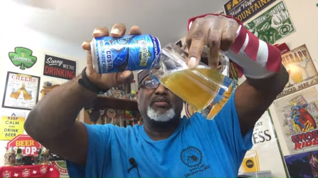 Sweetwater Brewing Costa Kick Plastic Pilsner Beer Review