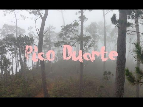 Subiendo el Pico  Duarte