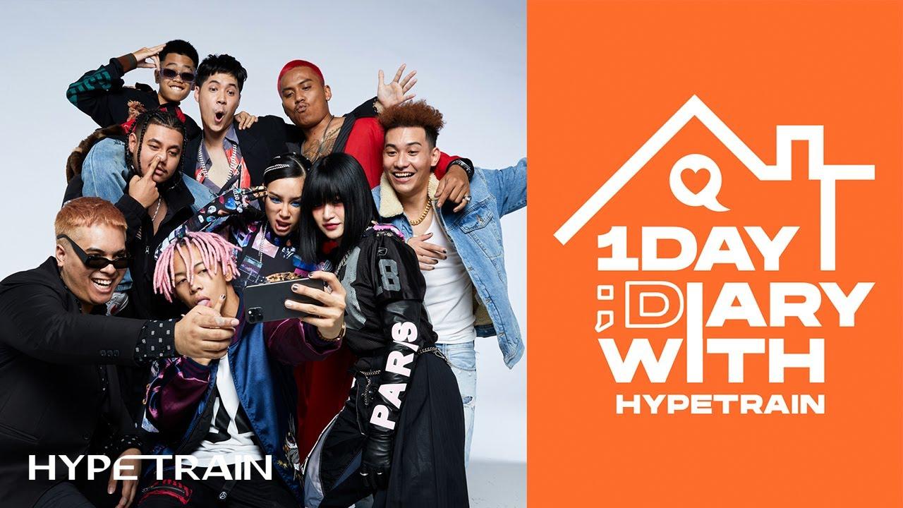 1 DAY DIARY WITH HYPE TRAIN — #HYPETRAINDIARY