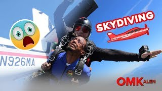 'OMKalen': Kalen Goes Skydiving