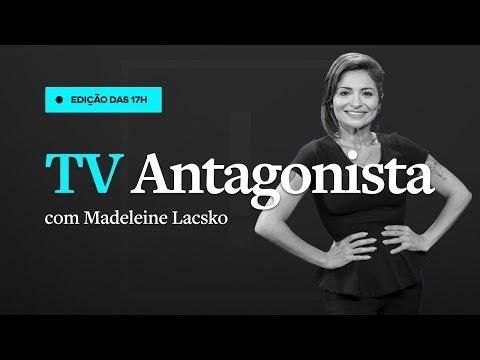 Resultado de imagem para AO VIVO - TV Antagonista - Edição das 17h