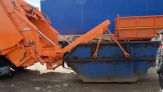 видео Оказание услуг по вывозу строительного мусора