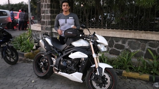 MY Pre-Valentines Date | Speed Triple | 2017