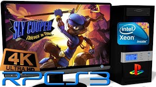 RPCS3 0.0.5 [PS3] - Sly Cooper: Thieves in Time [4K-Gameplay] Async Shaders. Vulkan api #2