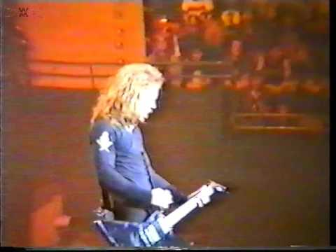 Metallica - Rotterdam, The Netherlands [1992.11.07]