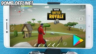 Left!! NEW GAME INSPIRED by FORTNITE (90MB) OFFLINE for ANDROID PHONE-PLAY STORE DOWNLOAD