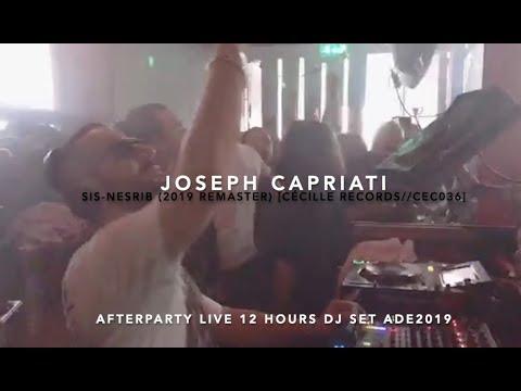 Joseh Capriati plays Sis Nesrib #ADE2019