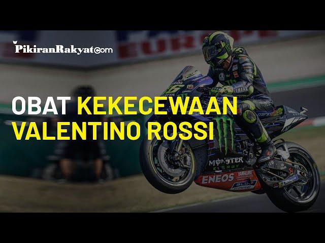 Melempem di MotoGP Catalunya, Valentino Rossi tak Kecewa Lantaran Dapat Hal Ini dari Sang Adik