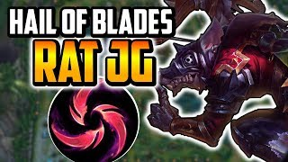 Hail of Blades Twitch Commentary - Twitch Jungle Commentary - League of Legends