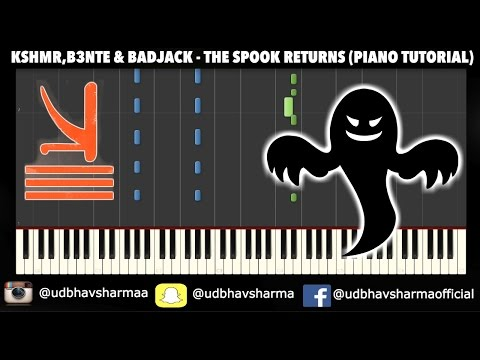 KSHMR, B3nte & Badjack - The Spook Returns (TUTORIAL/SHEETS/MIDI)