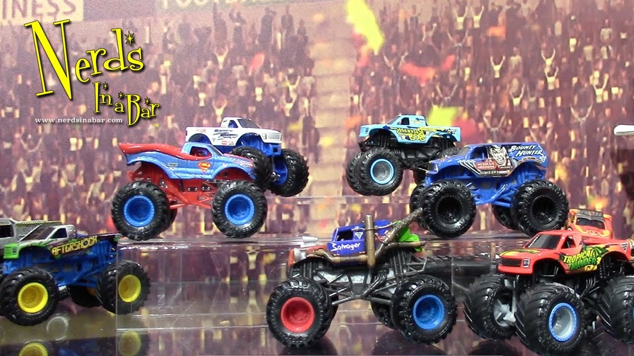 Toy Fair 2020 Spin Master Monster Jam Booth Tour Youtube
