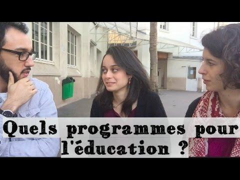 QUELS PROGRAMMES POUR L'ÉDUCATION ? - FAST & CURIOUS