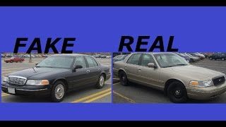 How to Tell The Difference Between A REAL Police interceptor and a FAKE one
